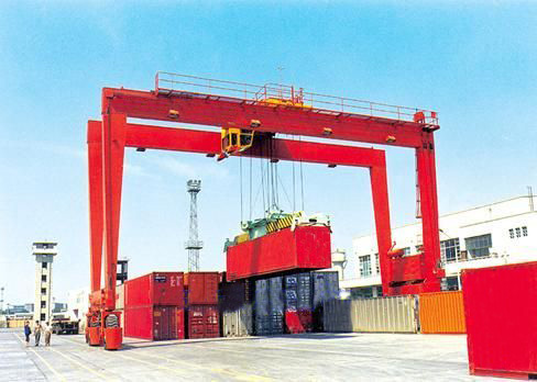 Rubber Tyre Container Gantry Crane