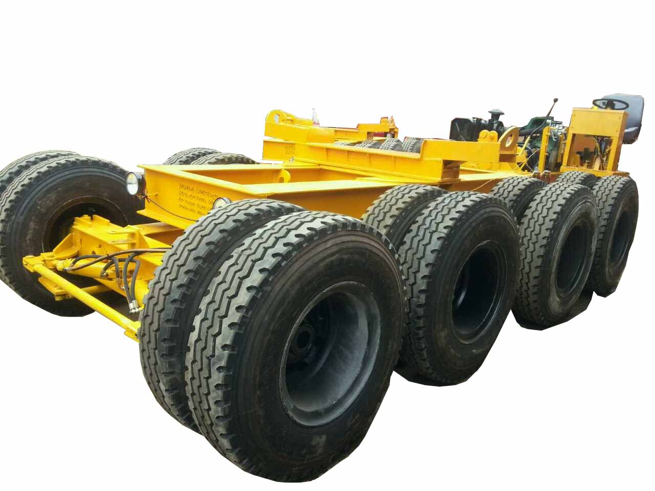 Rubber Tyre Carrier
