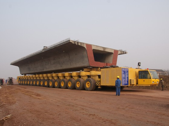 Rubber Tyre Carrier for High-speed Railway